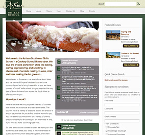 The Artisan Southwest Skills Cookery School website.